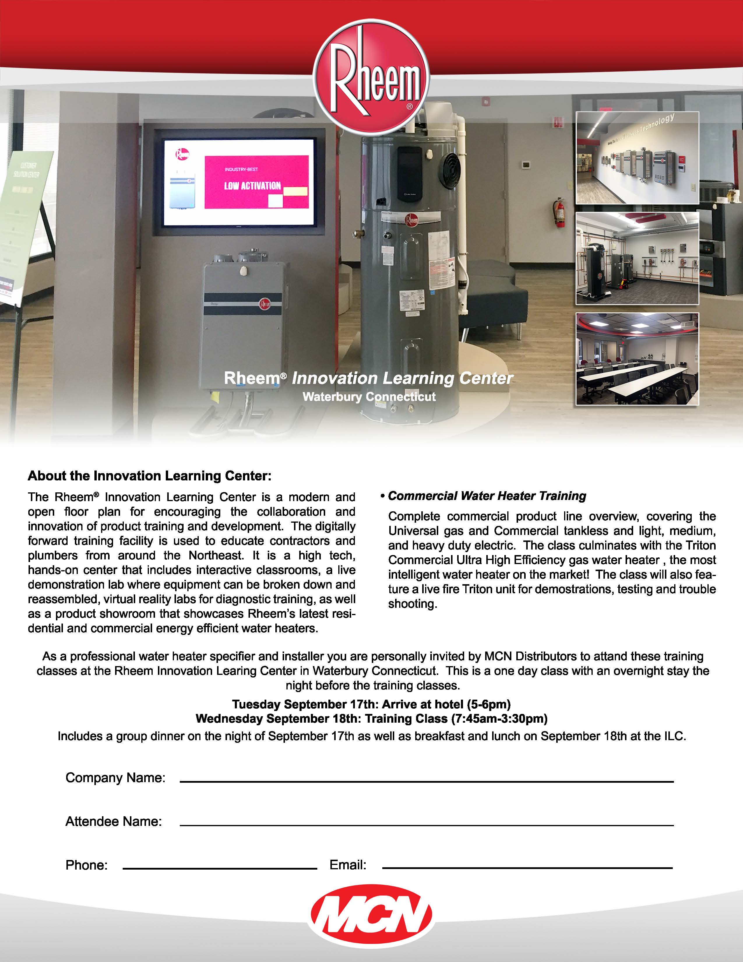 Commercial Water Heater Class